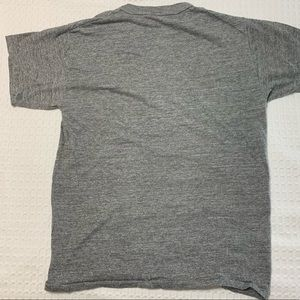 Russell Athletic Shirts - Vintage ZBT Fraternity Tee Gray & Purple Size S
